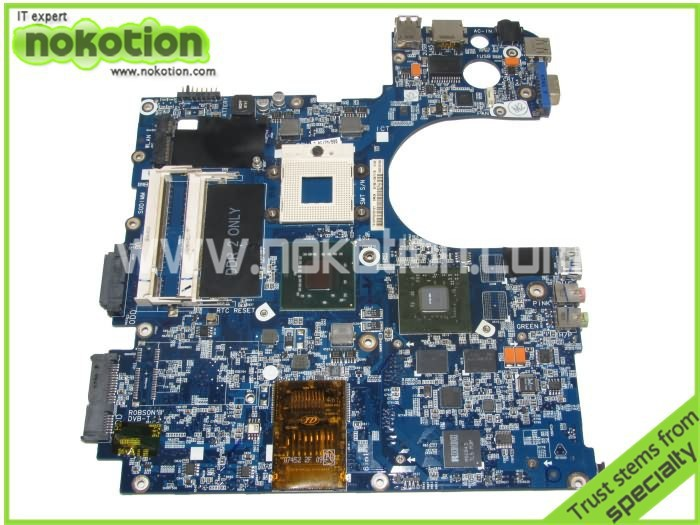 Samsung R70 BA92-04717A NOKOTION laptop anakart Anakart DDR3 tam test GeForce 8600 M