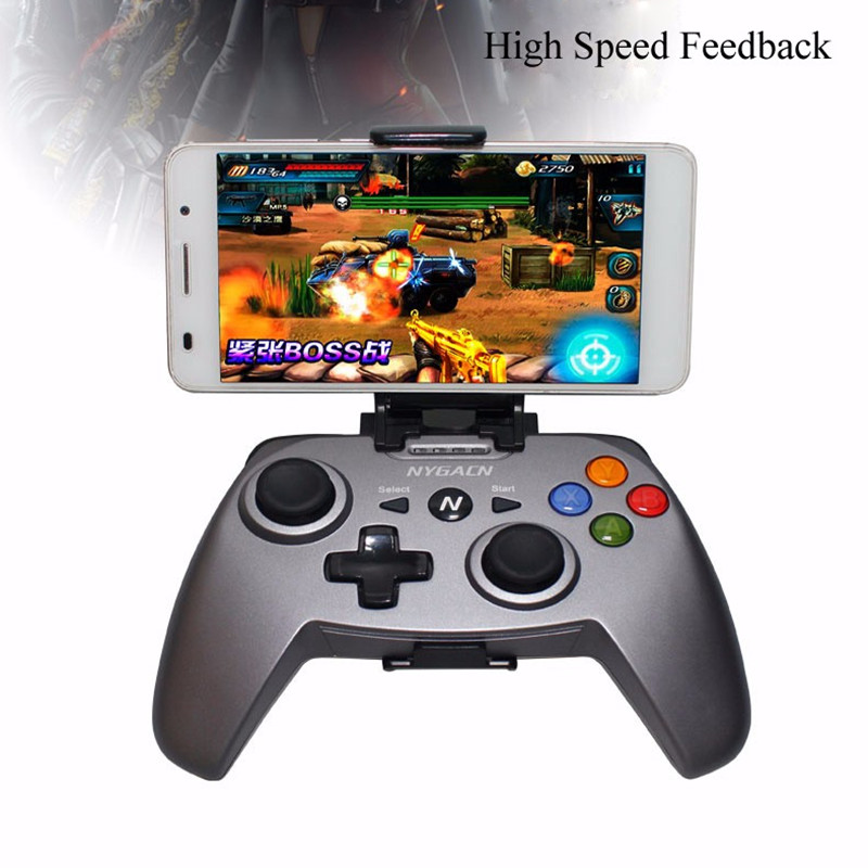 2.4g xbox 360 ps3 konsolu pc360 için kablosuz bluetooth oyun denetleyicisi ios android telefon pc tv gamepad joystick video oyunu