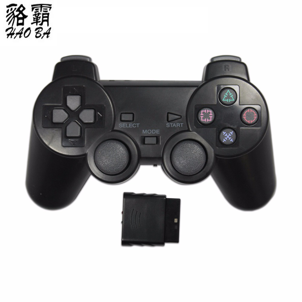 HAOBA 2.4G kablosuz game controller gamepad joystick için PS2 konsolu playstation 2
